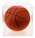 Clear Acrylic Basket Ball Display Case