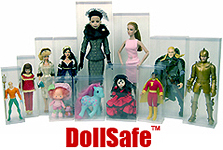 Doll Case, Doll Box Clear Display